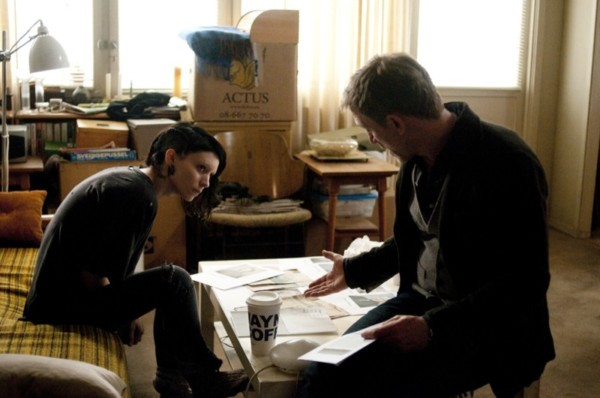"""Rooney Mara and Daniel Craig star in Columbia Pictures' """"THE GIRL WITH THE DRAGON TATTOO."""""""